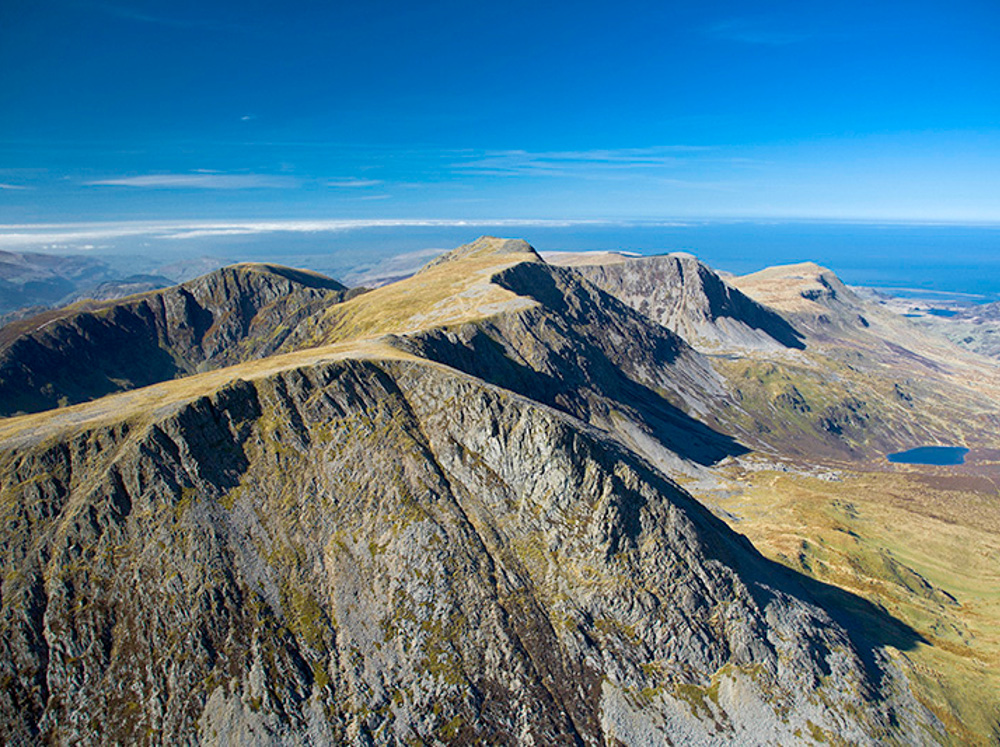 Cadair Idris (looking west toward Barmouth) Snowdonia Naional Park